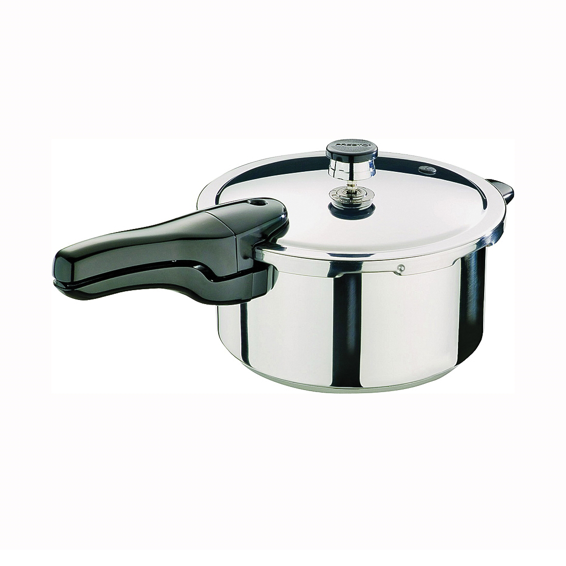 Picture of Presto 01341 Pressure Cooker, 4 qt Capacity, 10-1/2 in Dia, Stainless Steel