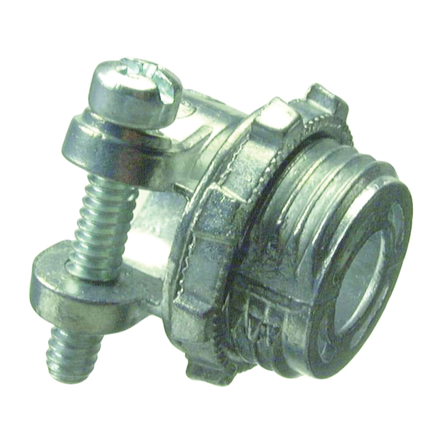Picture of Halex 04212 Squeeze Connector, 1-1/2 in Trade, Zinc
