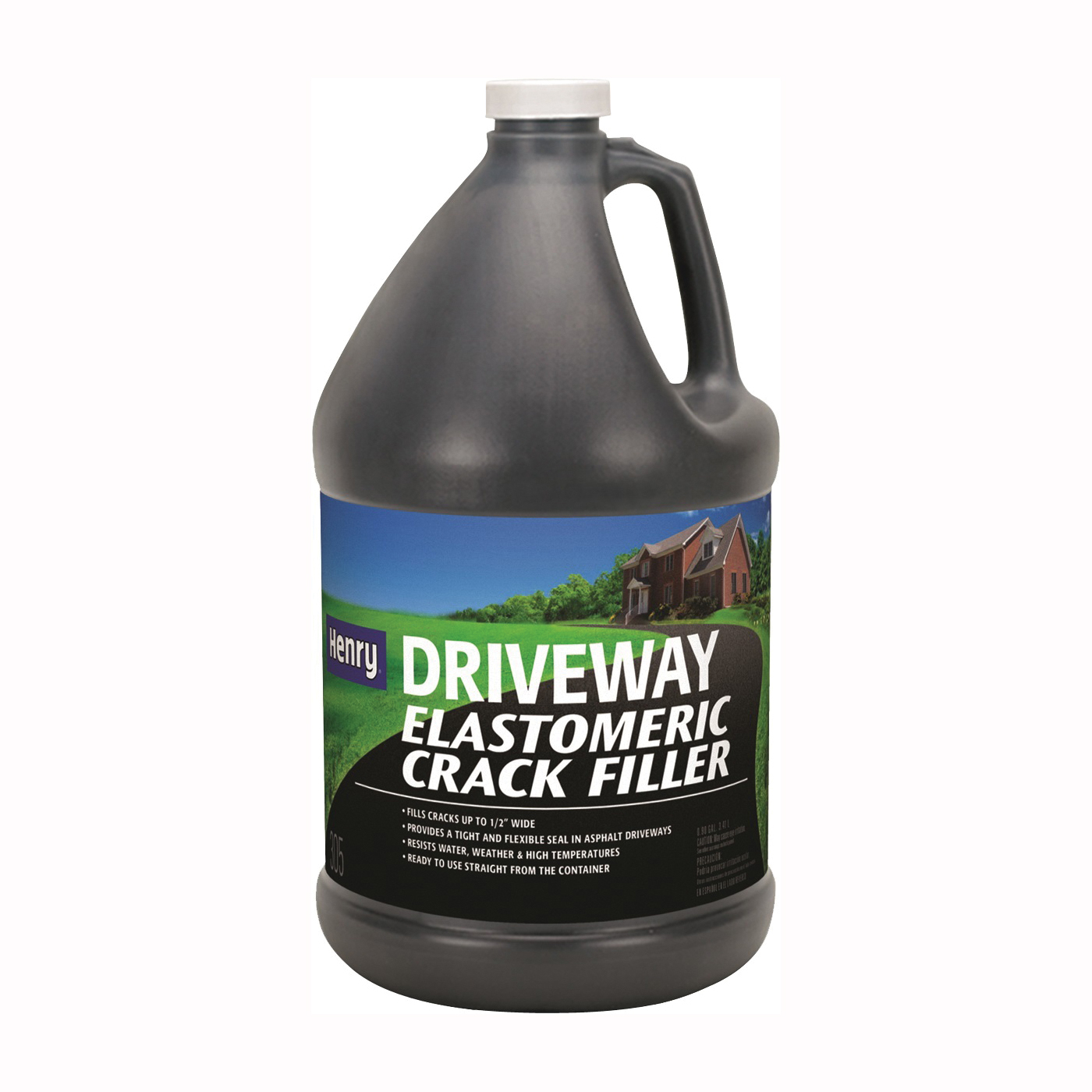 Picture of Henry HE305 Series HE305447 Crack Filler, Liquid, Black, Slight, 0.9 gal Package, Jug