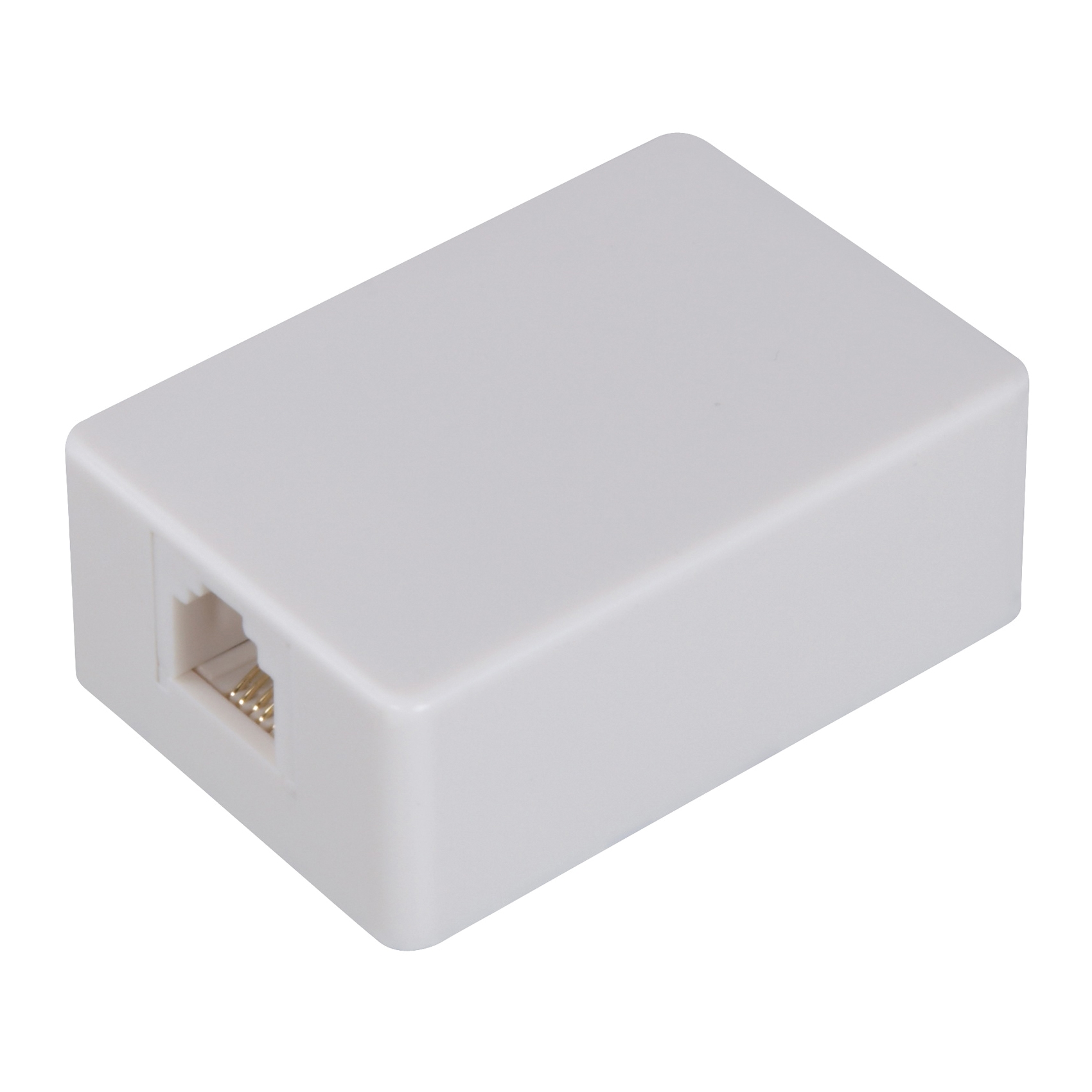 Picture of Zenith TM1001SMSMW Wall Jack, White