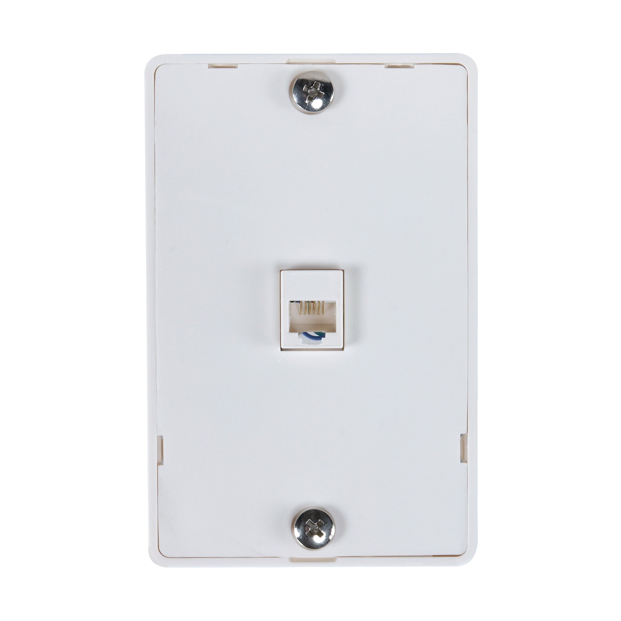 Picture of Zenith TW1001WPW Wall Phone Jack, White