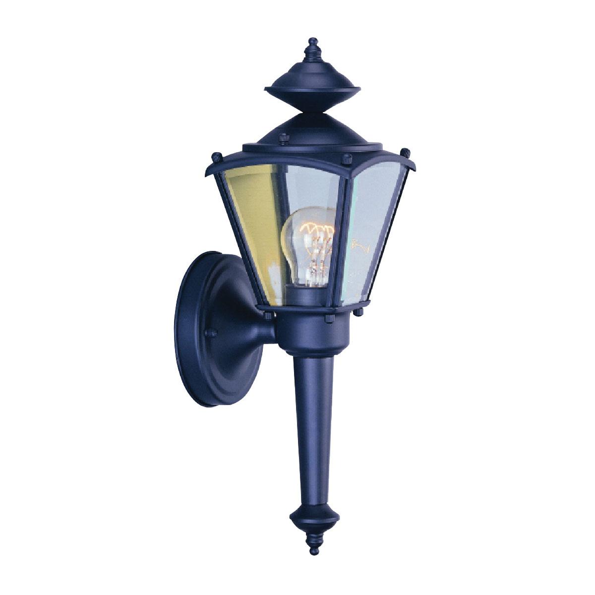 Picture of Boston Harbor 4003H-53L Porch Light Fixture, CFL Lamp, Black