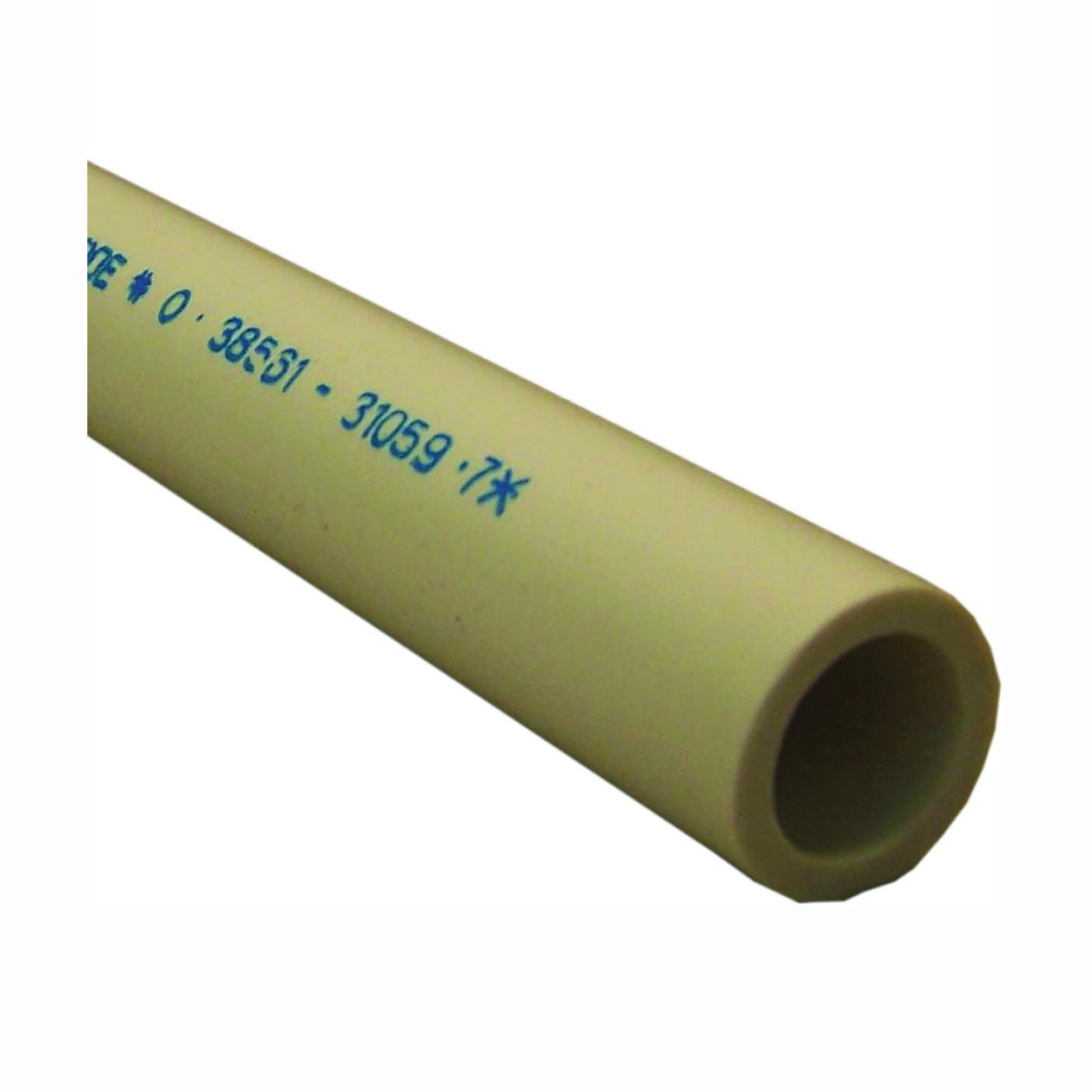 Picture of GENOVA 300 Series 310107 Pressure Pipe Plain, 10 ft L, Plain, SCH 40 Schedule