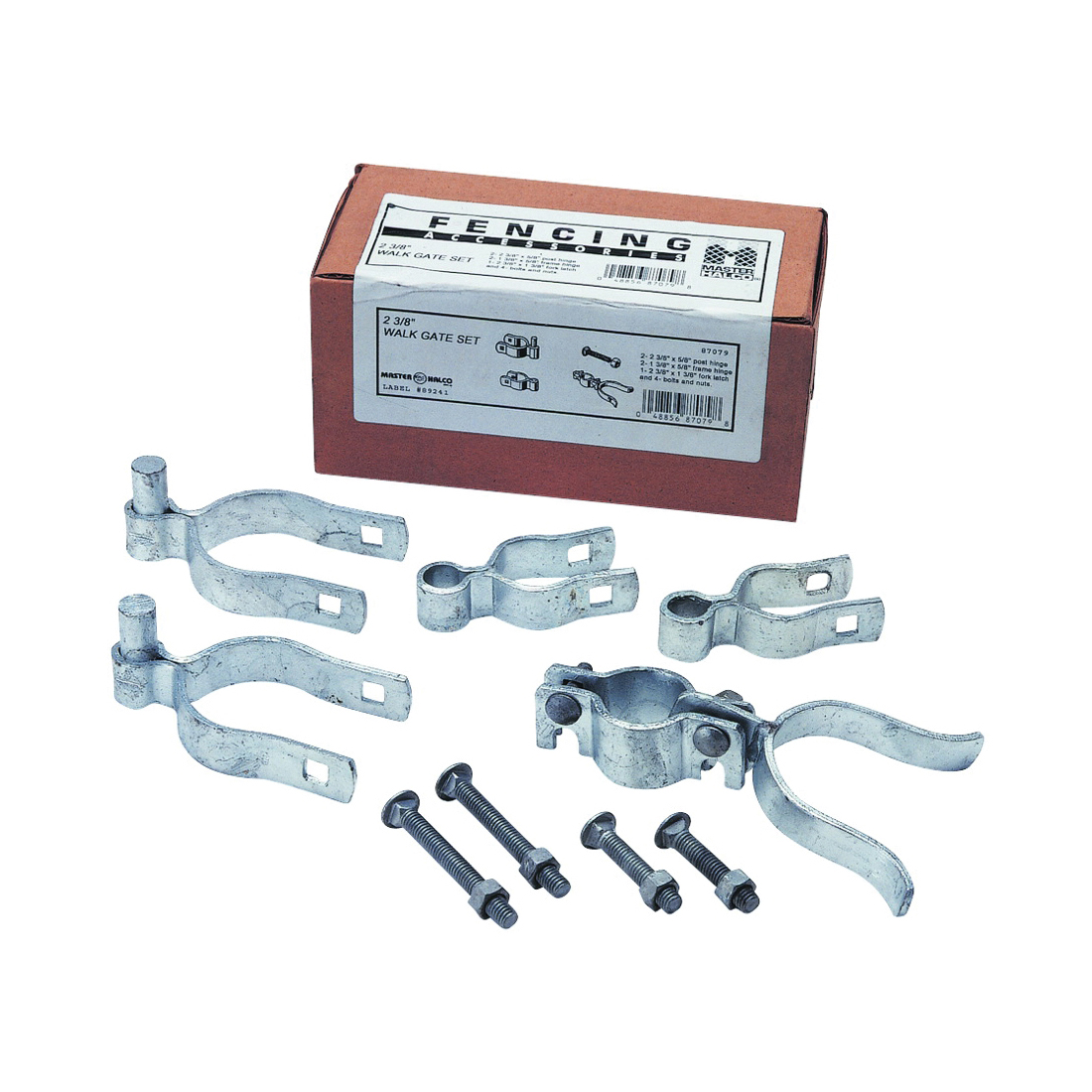 Picture of Stephens Pipe & Steel HD07110RP Gate Hardware Kit, Single-Drive, For: Chain Link Gate