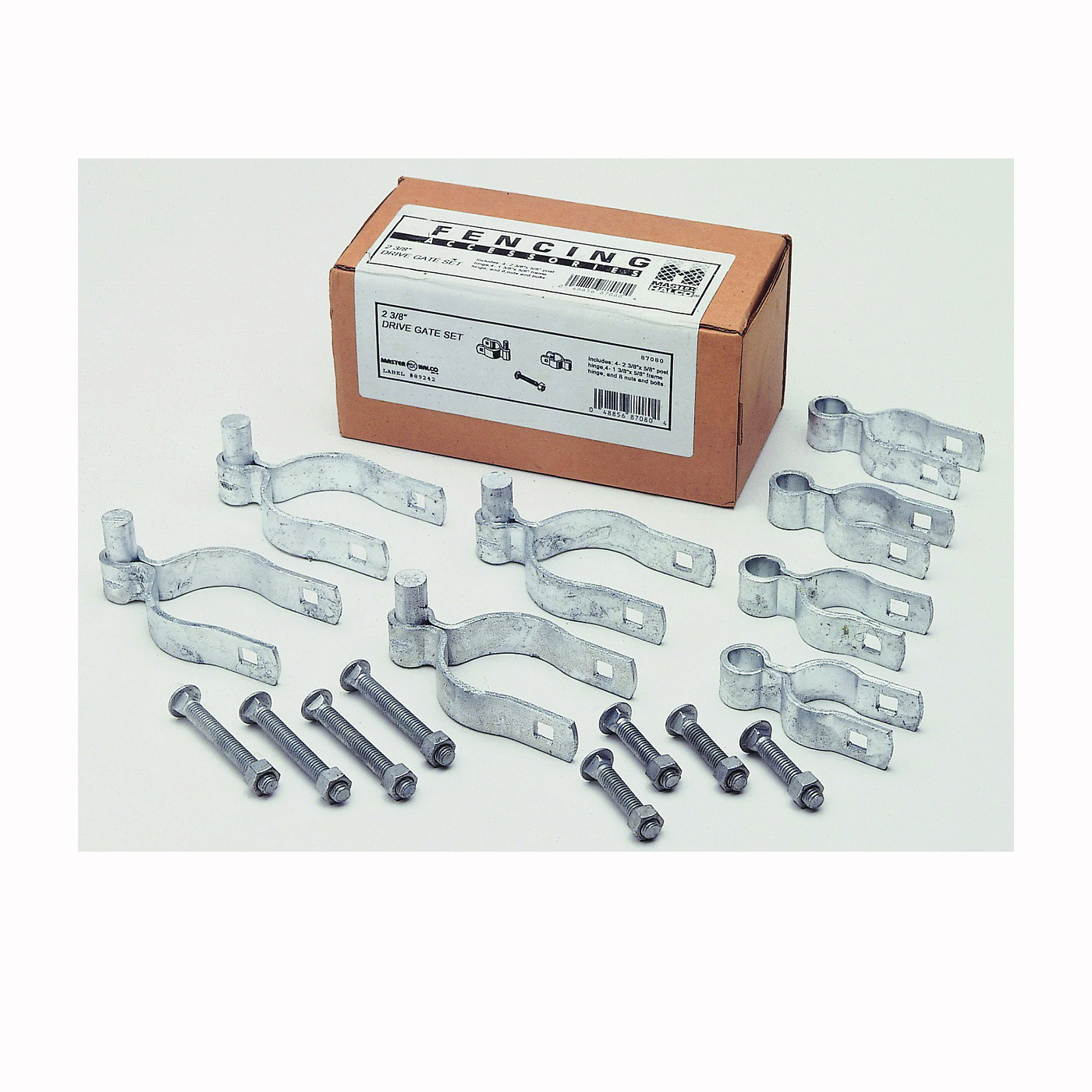 Picture of Stephens Pipe & Steel HD07120RP Gate Hardware Kit, Double-Drive, For: Chain Link Gate