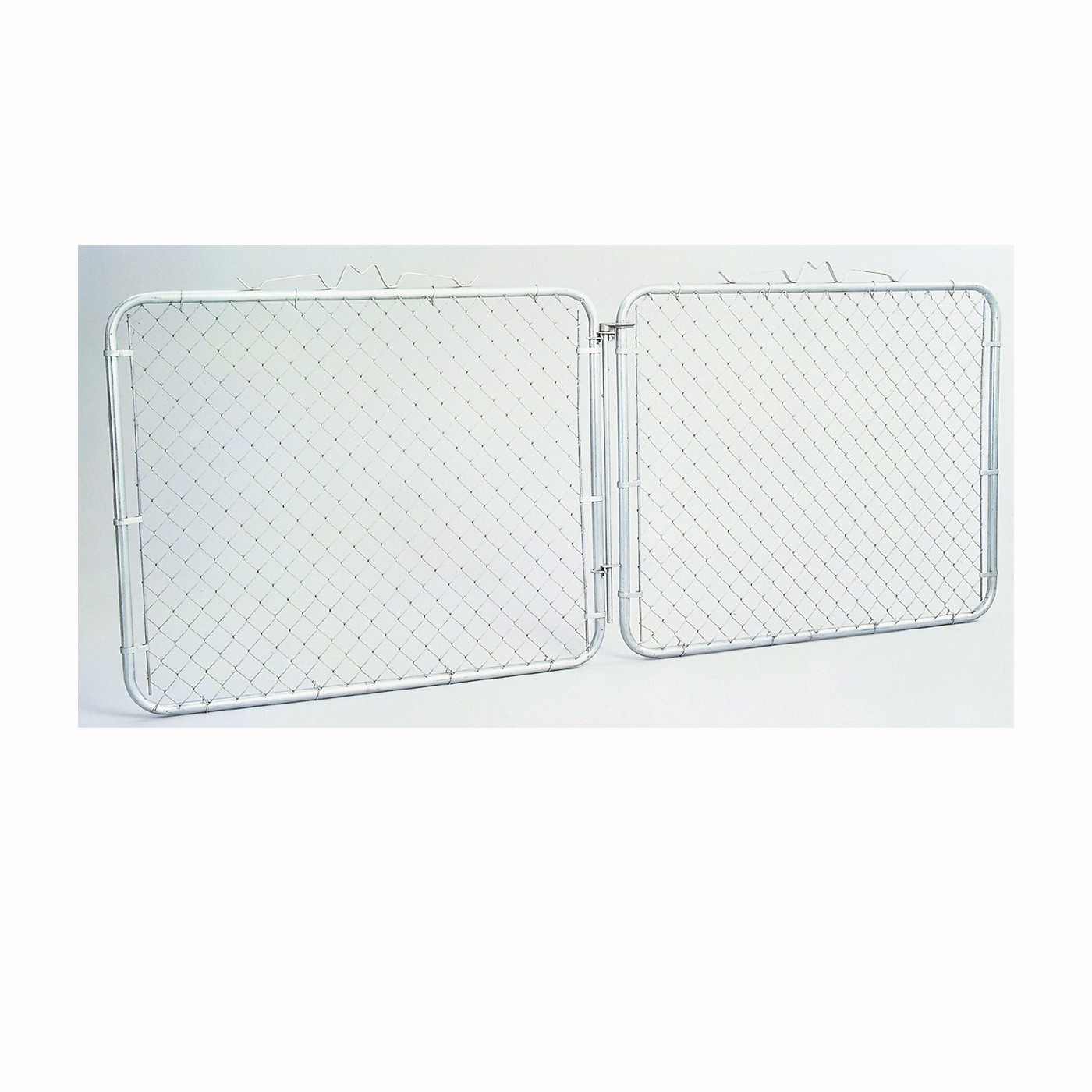 Picture of Stephens Pipe & Steel GTB12048 Chain Link Drive Gate, 10 ft W Gate, 48 in H Gate