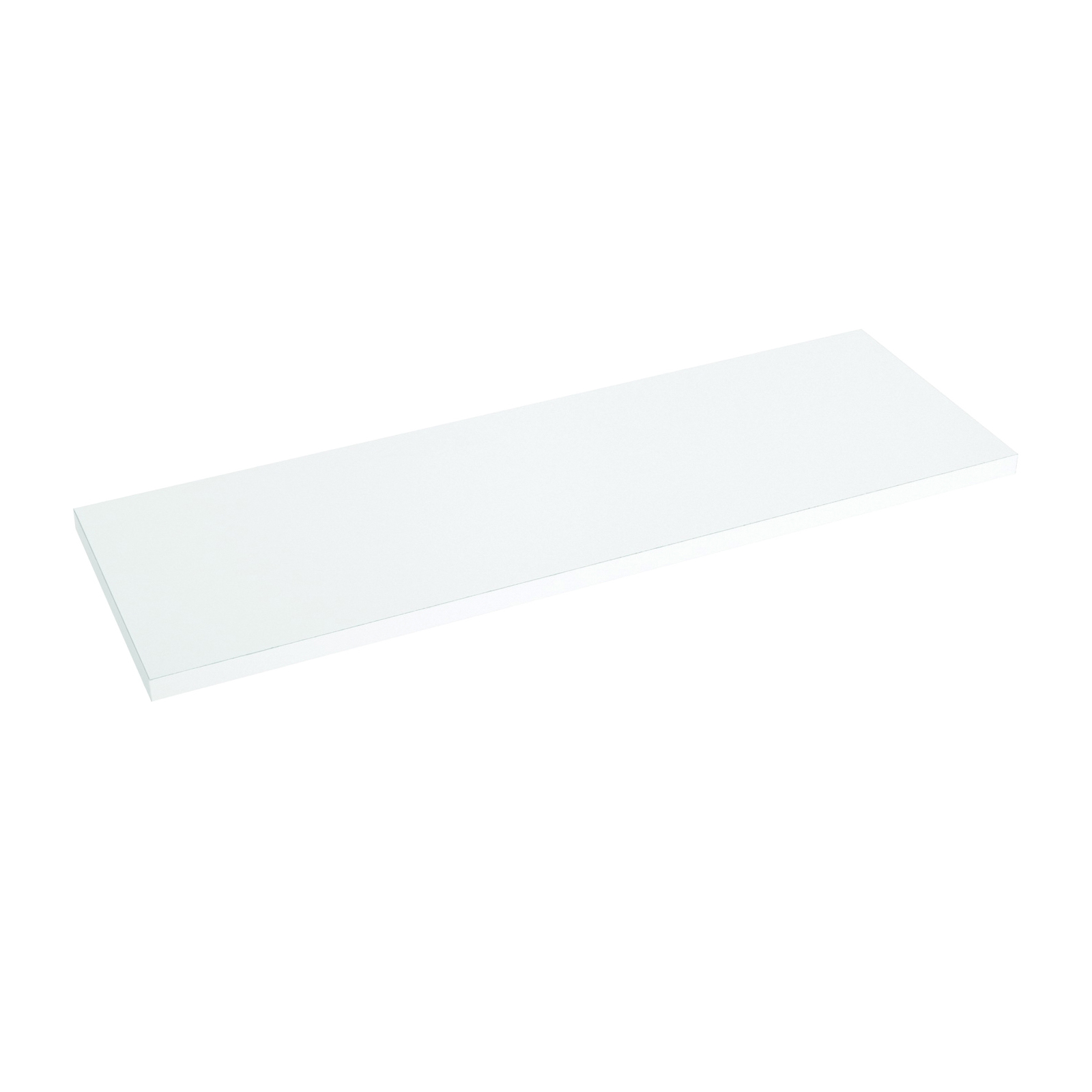 Picture of Knape & Vogt 1980 WH 8X48 Shelf Board, 200 lb, 5-Shelf, 48 in L, 8 in W, Particleboard