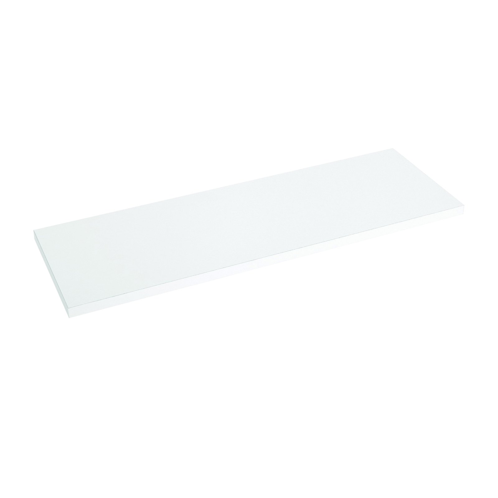 Picture of Knape & Vogt 1980 WH 10X48 Shelf Board, 200 lb, 5-Shelf, 48 in L, 10 in W, Particleboard