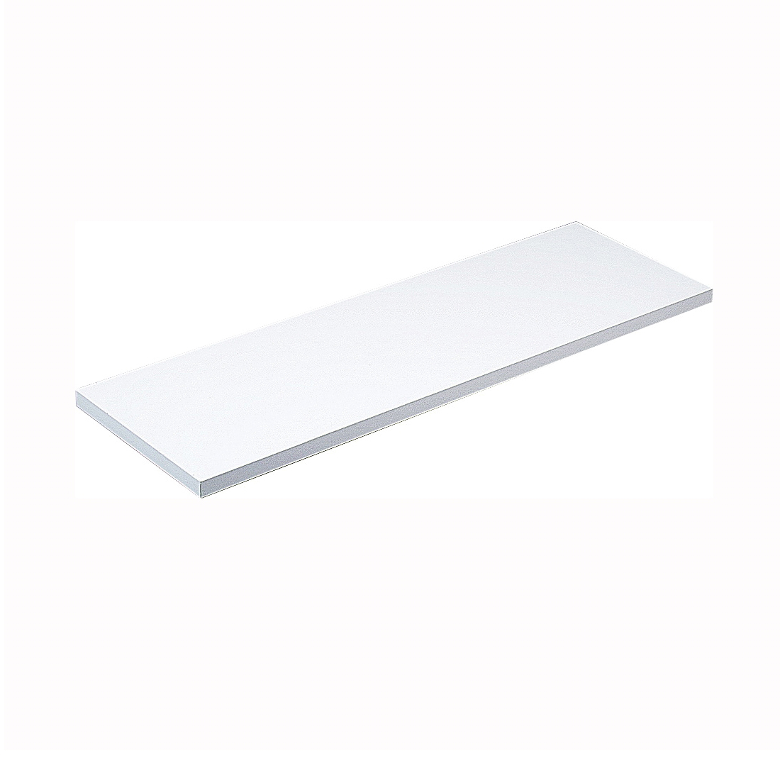 Picture of Knape & Vogt 1980 WH 12X48 Shelf Board, 200 lb, 5-Shelf, 48 in L, 12 in W, Particleboard