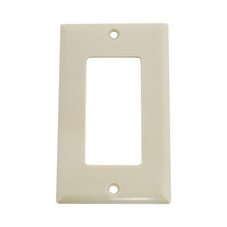 Picture of Arrow Hart 2151 Series 2151V-BOX Wallplate, 4-1/2 in L, 2-3/4 in W, 1-Gang, Thermoset, Ivory, High-Gloss
