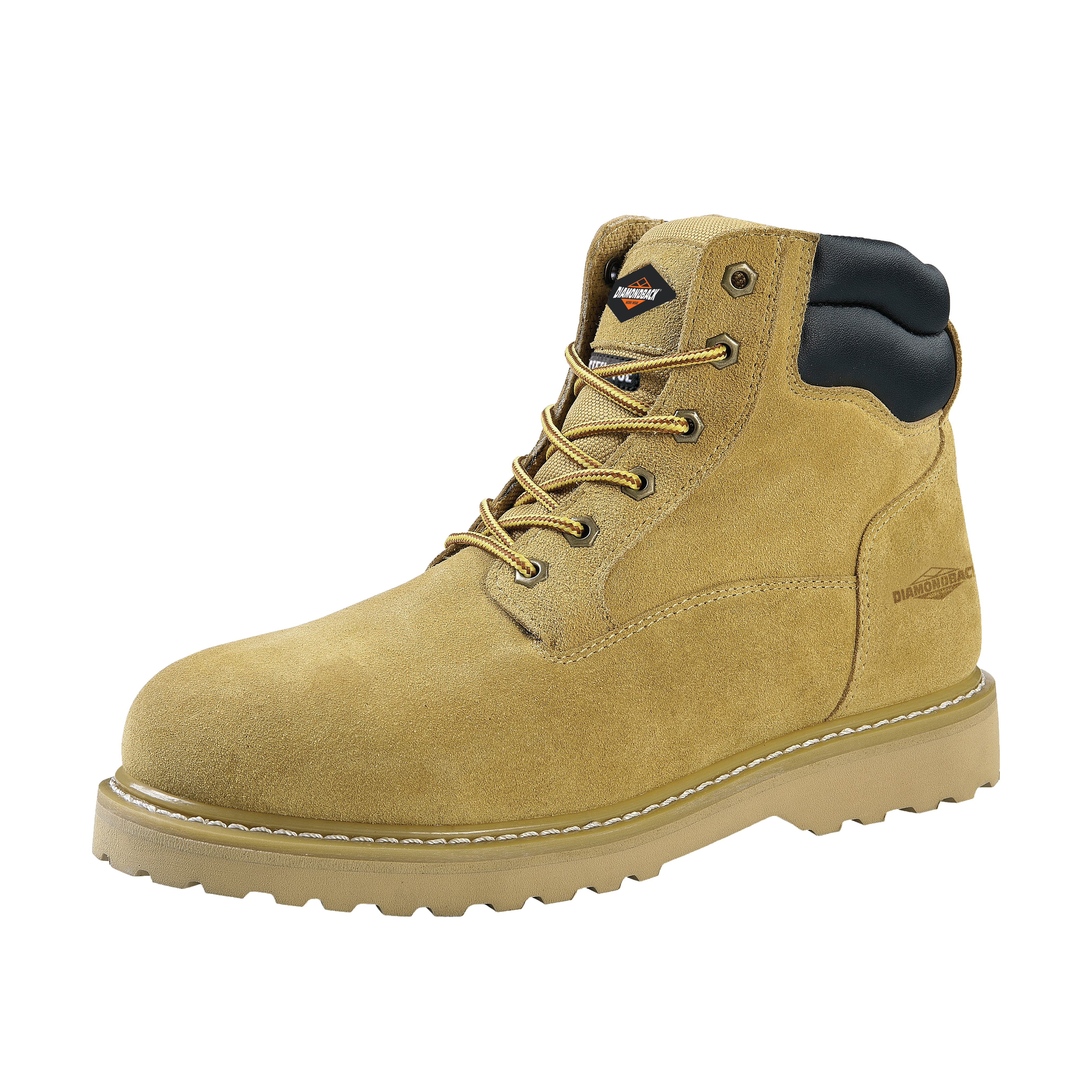 Picture of Diamondback 1-10.5 Work Boots, 10.5, Beige, Leather Upper