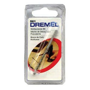 Picture of DREMEL 561 Cutting Bit, 1/8 in Dia, 1-1/2 in L, 1/8 in Dia Shank, HSS