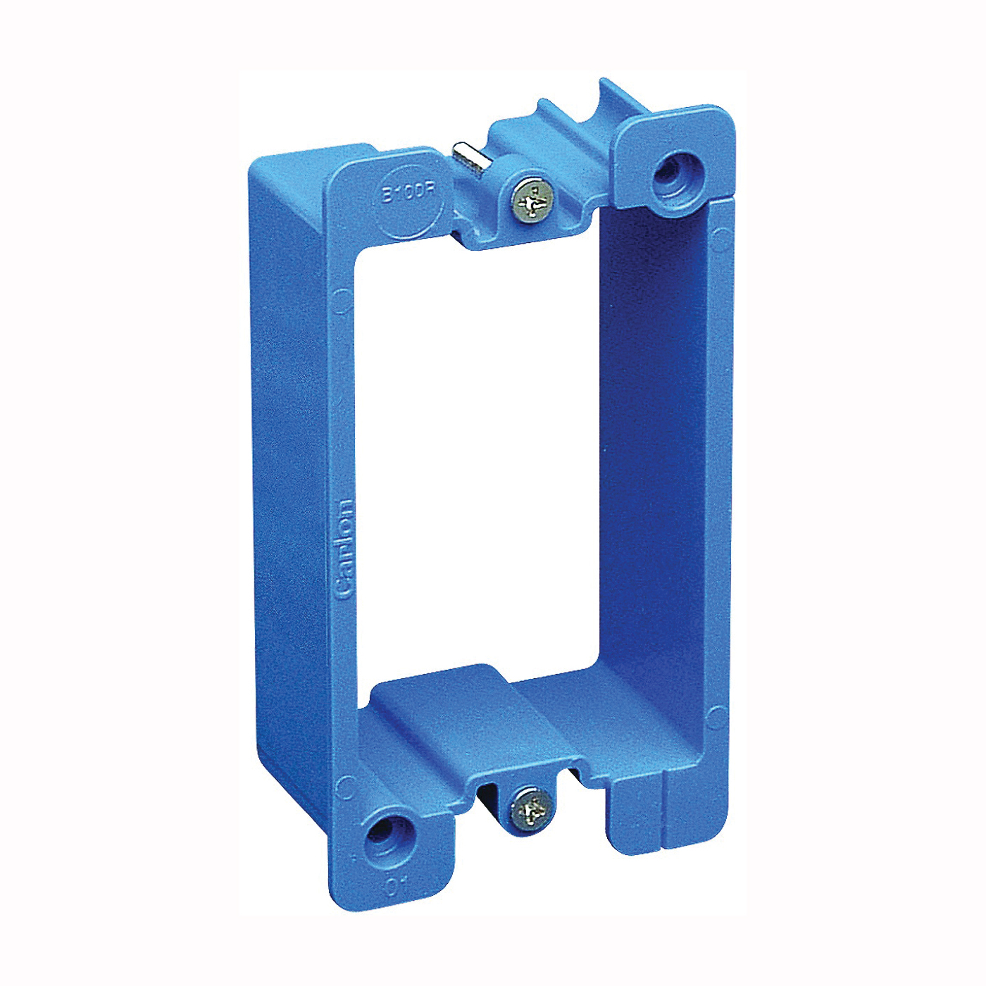 Picture of Carlon B1EXT-CRD Box Extender, 3.28 in L, 2.18 in W, 1-Gang, PVC, Blue