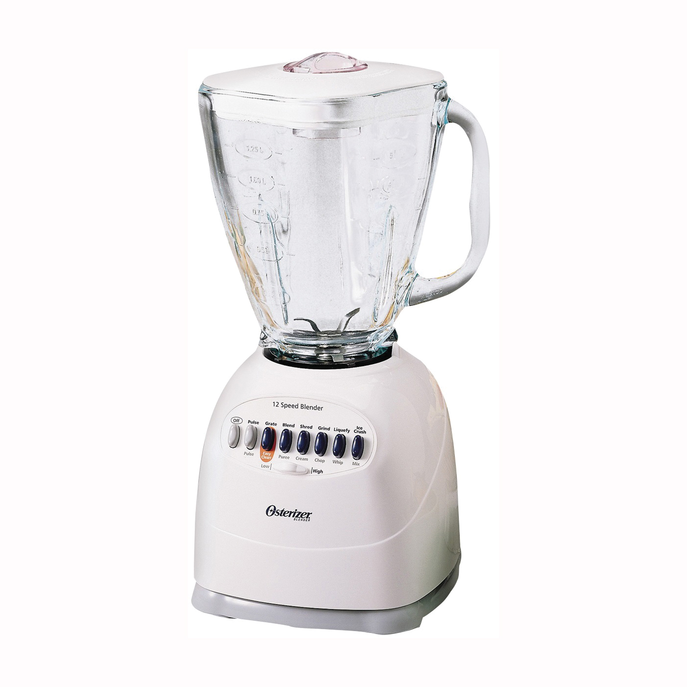 Picture of Oster Simple Blend Classic Series 006642-000-N01 Blender, 40 oz Bowl, 450 W, 12 -Speed, ABS/Glass, White