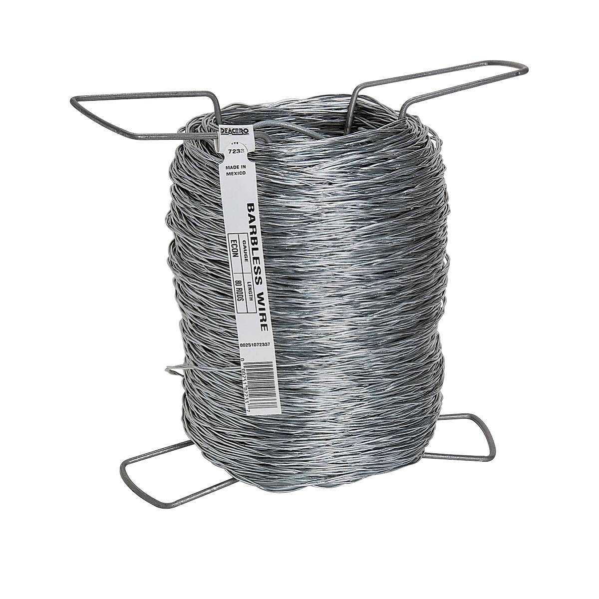 Picture of Rangemaster 7227 Barbless Wire, 1320 ft L, 12.5 ga Gauge, Zinc