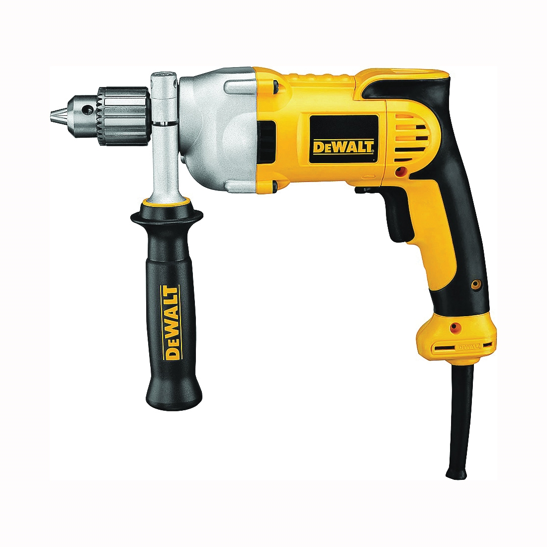 Picture of DeWALT DWD210G Electric Drill, 120 V, 980 W, 1/2 in Chuck, Keyed Chuck, 0 to 1250 rpm No Load
