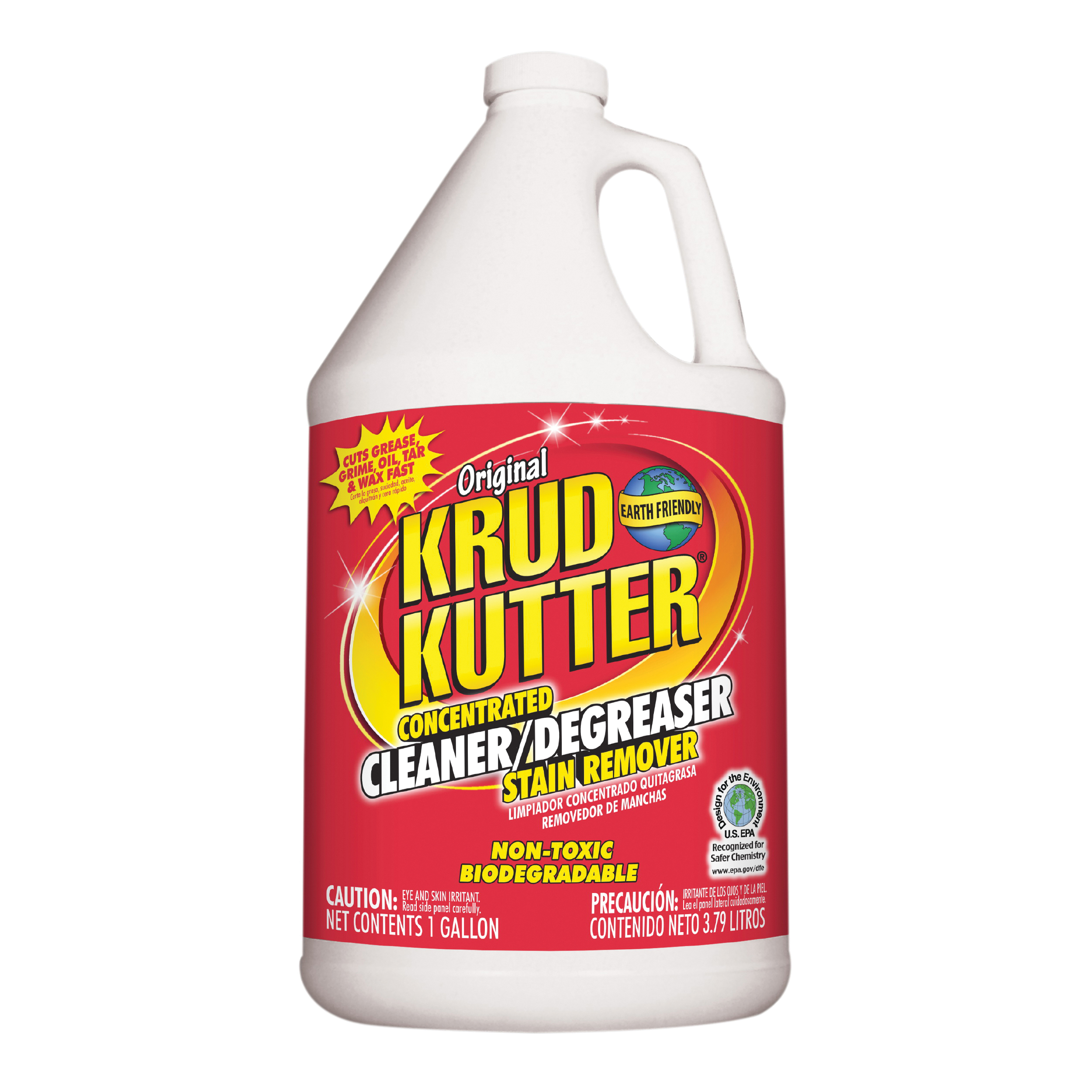 Picture of KRUD KUTTER KK012 Cleaner/Degreaser, 1 gal Package, Bottle, Liquid, Mild