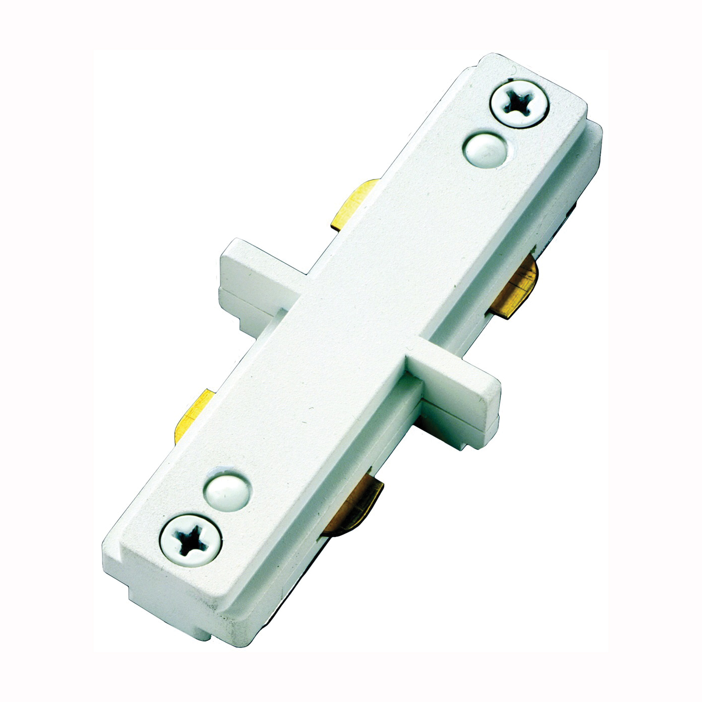 Picture of Eaton Lighting LZR212P Track Light Connector, White, For: Lazer Track Lamp holders and Halo Power-Trac Lamp holders