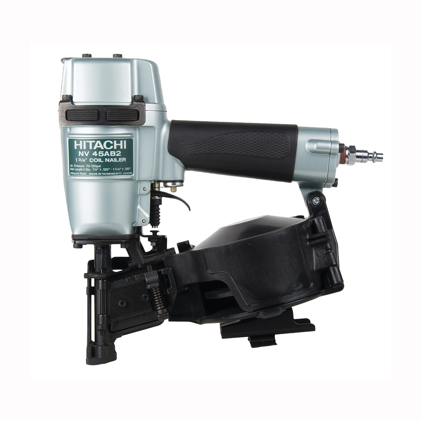 Picture of HITACHI NV45AB2 Roofing Nailer, 120 Magazine, 16 deg Collation