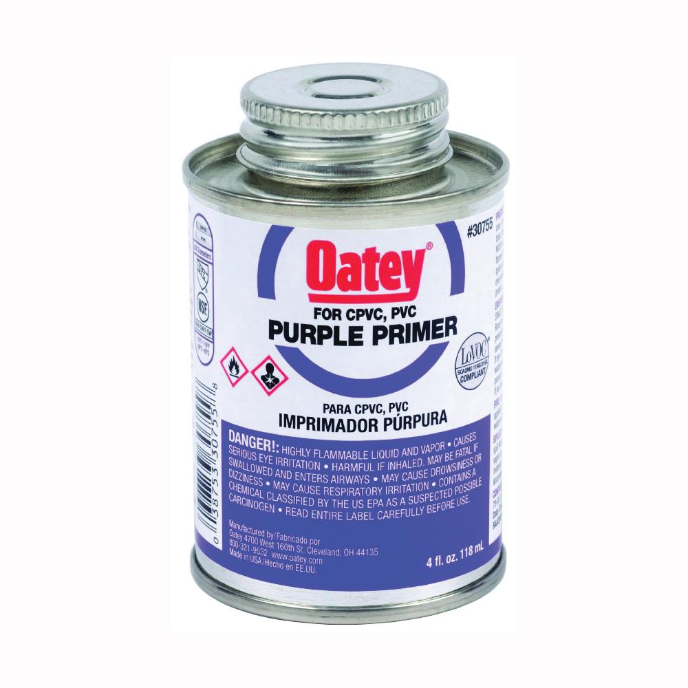 Picture of Oatey 30755 Primer, Liquid, Purple, 4 oz Package, Pail