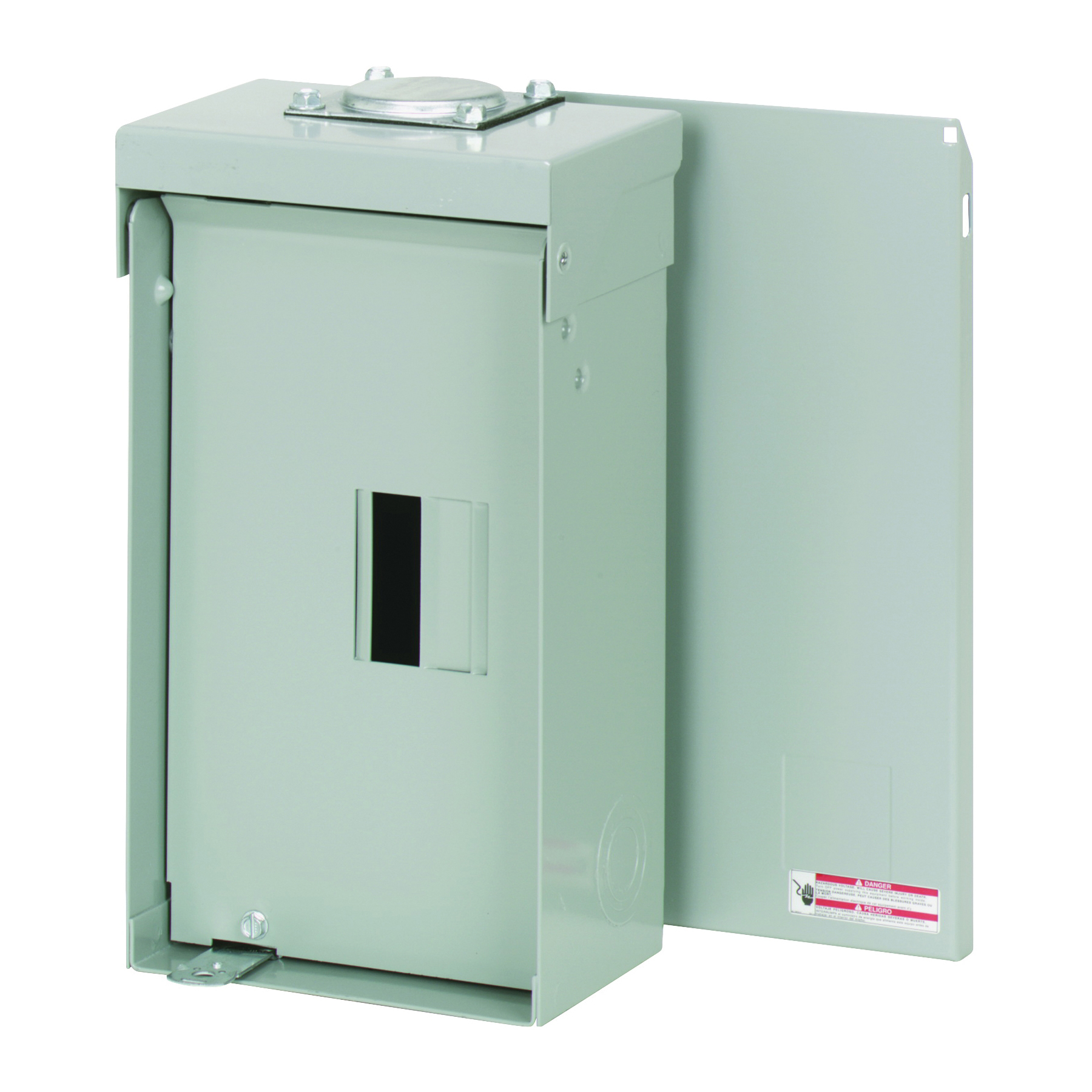 Picture of Cutler-Hammer BR Series BR24L125RP Load Center, 125 A, 2-Space, 4-Circuit, Main Lug, NEMA 3R Enclosure