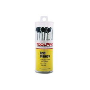 Picture of TOOLPRO TP05044 Ceiling Grid Clamp, Plastic, 4 Package, Pack