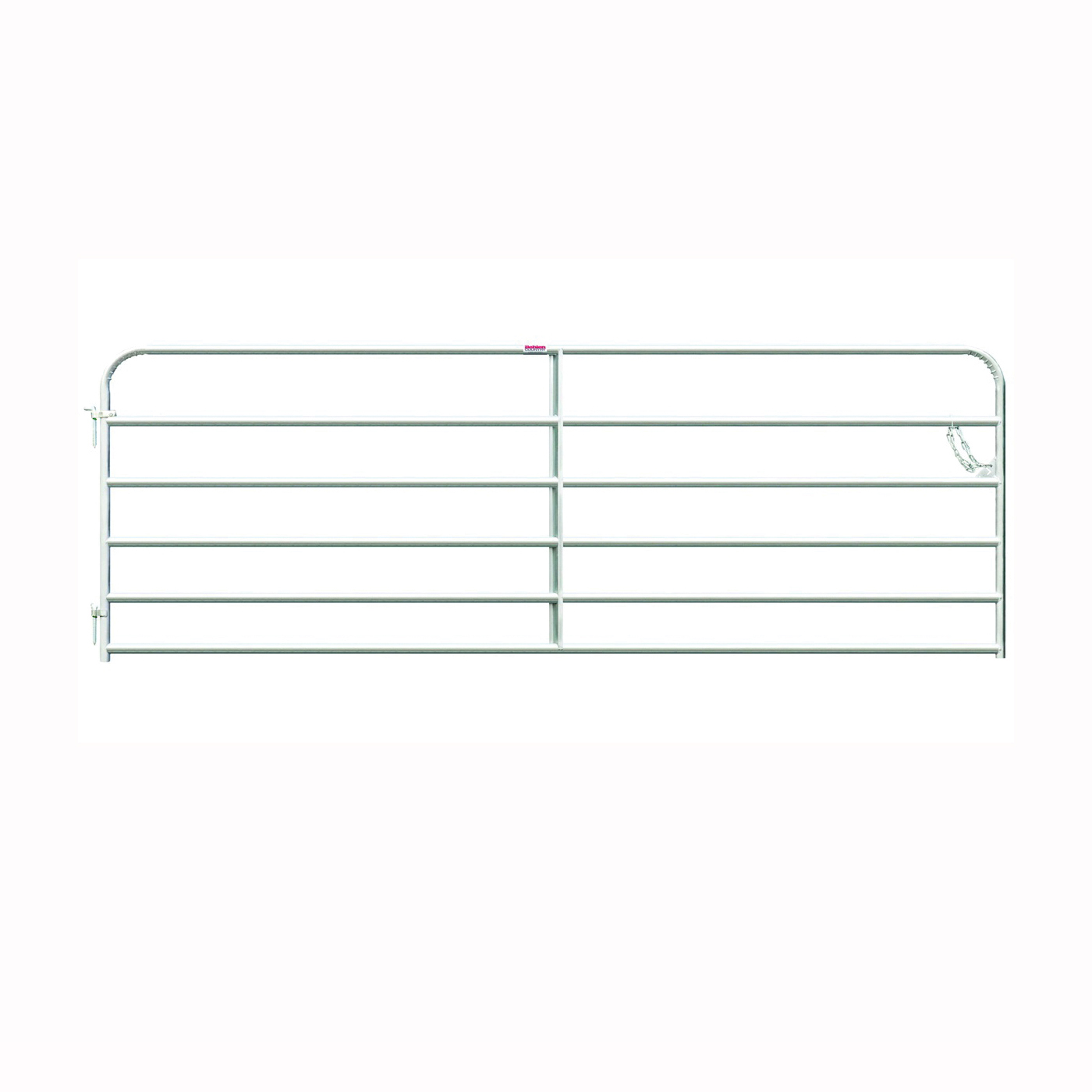 Picture of Behlen Country 40113108 Galvanized Gate, 120 in W Gate, 50 in H Gate, 20 ga Frame Tube/Channel, Steel Frame