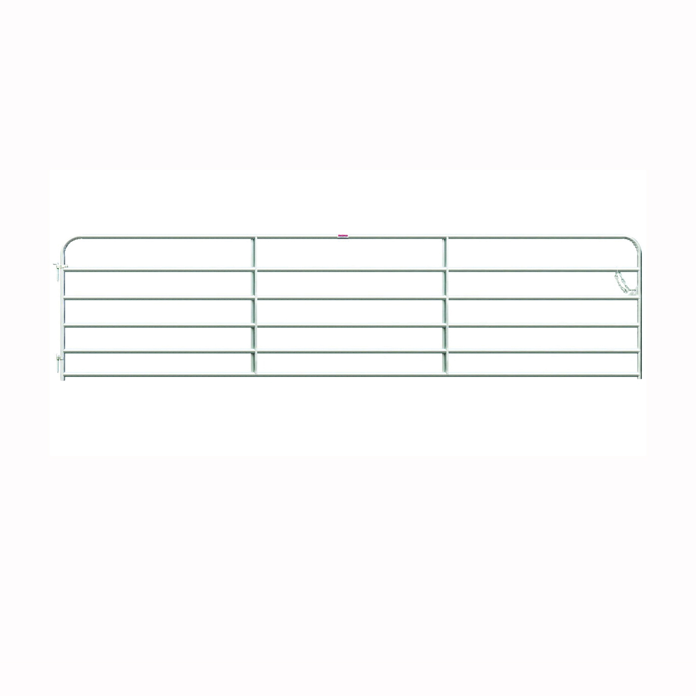 Picture of Behlen Country 40113148 Galvanized Gate, 168 in W Gate, 50 in H Gate, 20 ga Frame Tube/Channel, Steel Frame