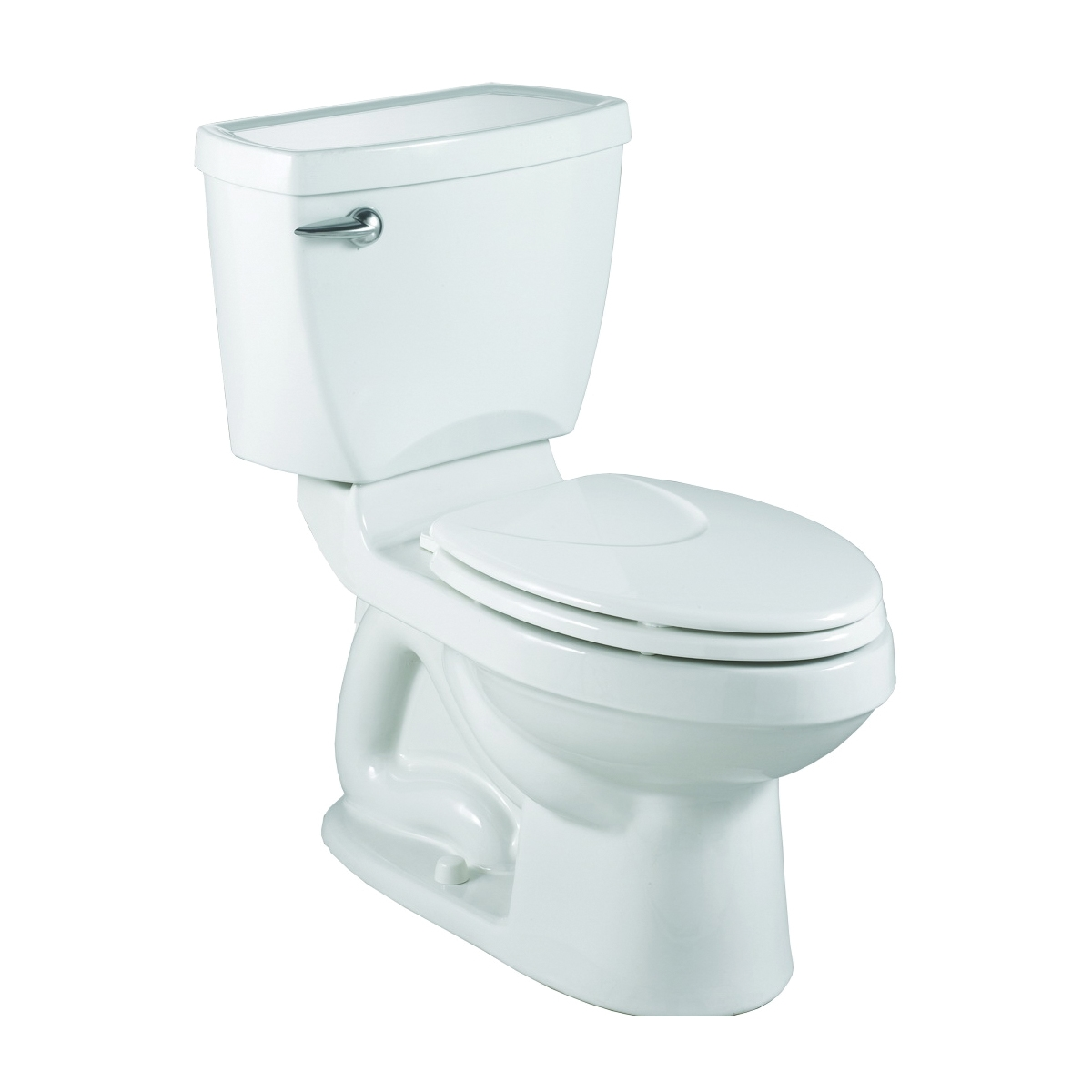 Picture of American Standard Champion 4 Series 3186128ST.020 Flush Toilet, Round Bowl, 1.28 gpf Flush, 12 in Rough-In, White