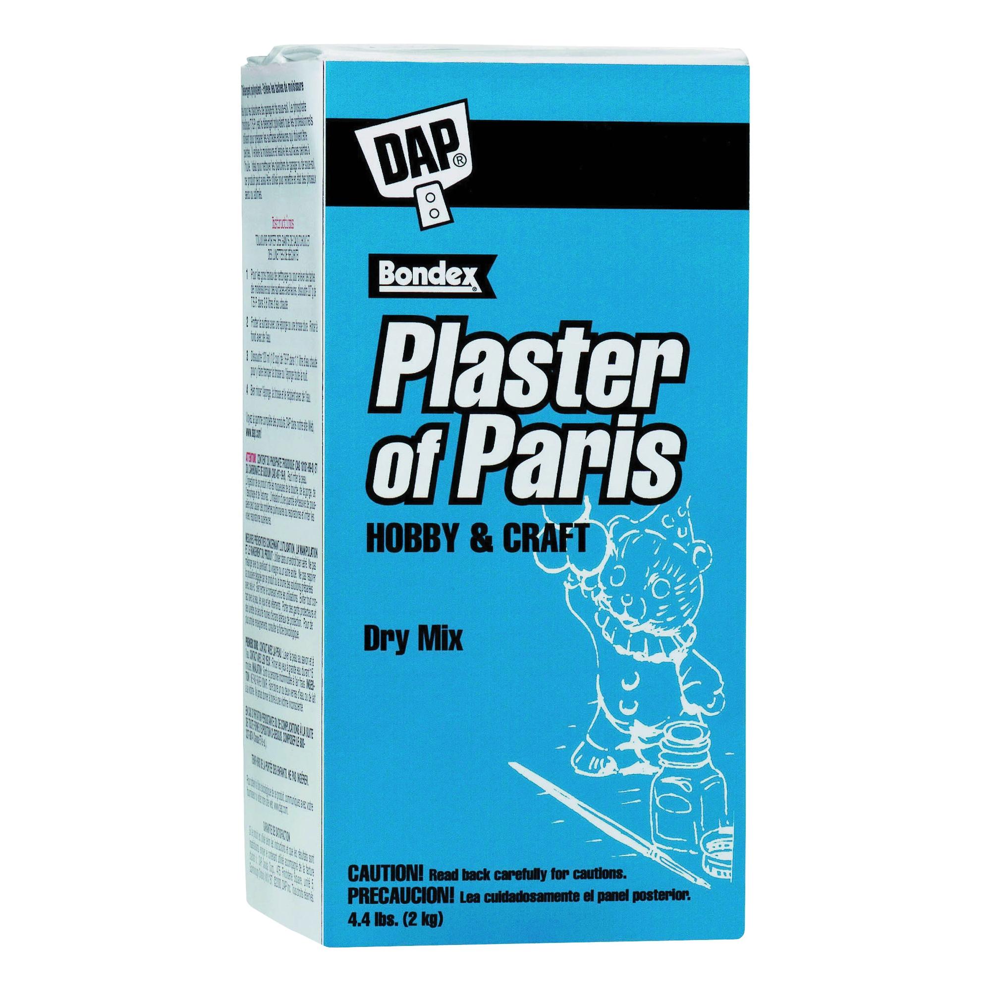 Picture of DAP 53005 Plaster of Paris, Powder, White, 4.4 lb Package, Box