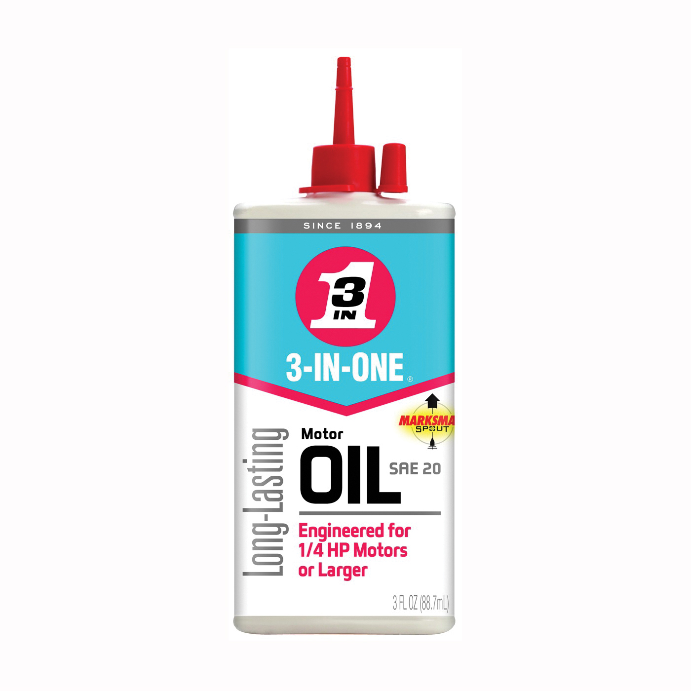 Picture of 3-IN-ONE 101456/10045 Motor Oil, 20, 3 oz Package