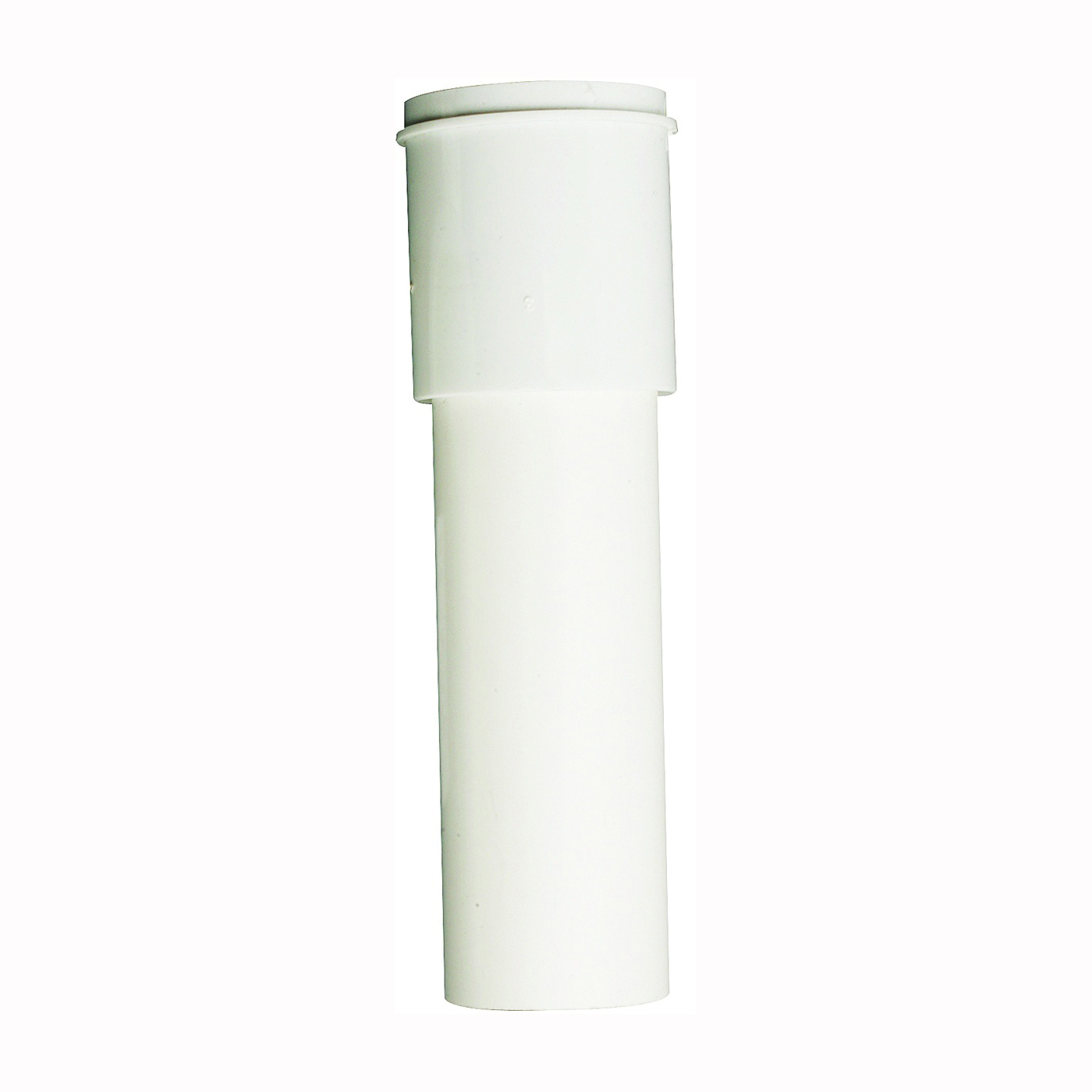 Picture of Plumb Pak PP911W Extension Tube, 1-1/2 x 1-1/2 in, 12 in L, Slip Joint, Plastic, White