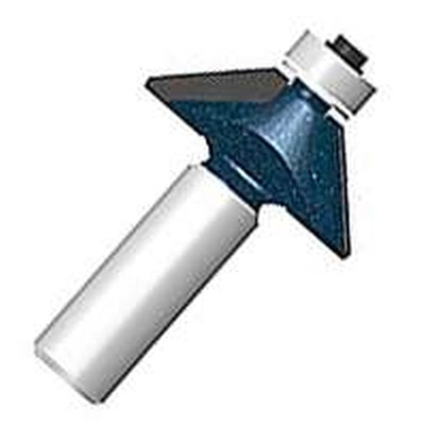 Picture of Bosch 85298MC Router Bit, 1-5/16 in Dia Cutter, 2 in OAL, 1/4 in Dia Shank, 1 -Cutter, Steel