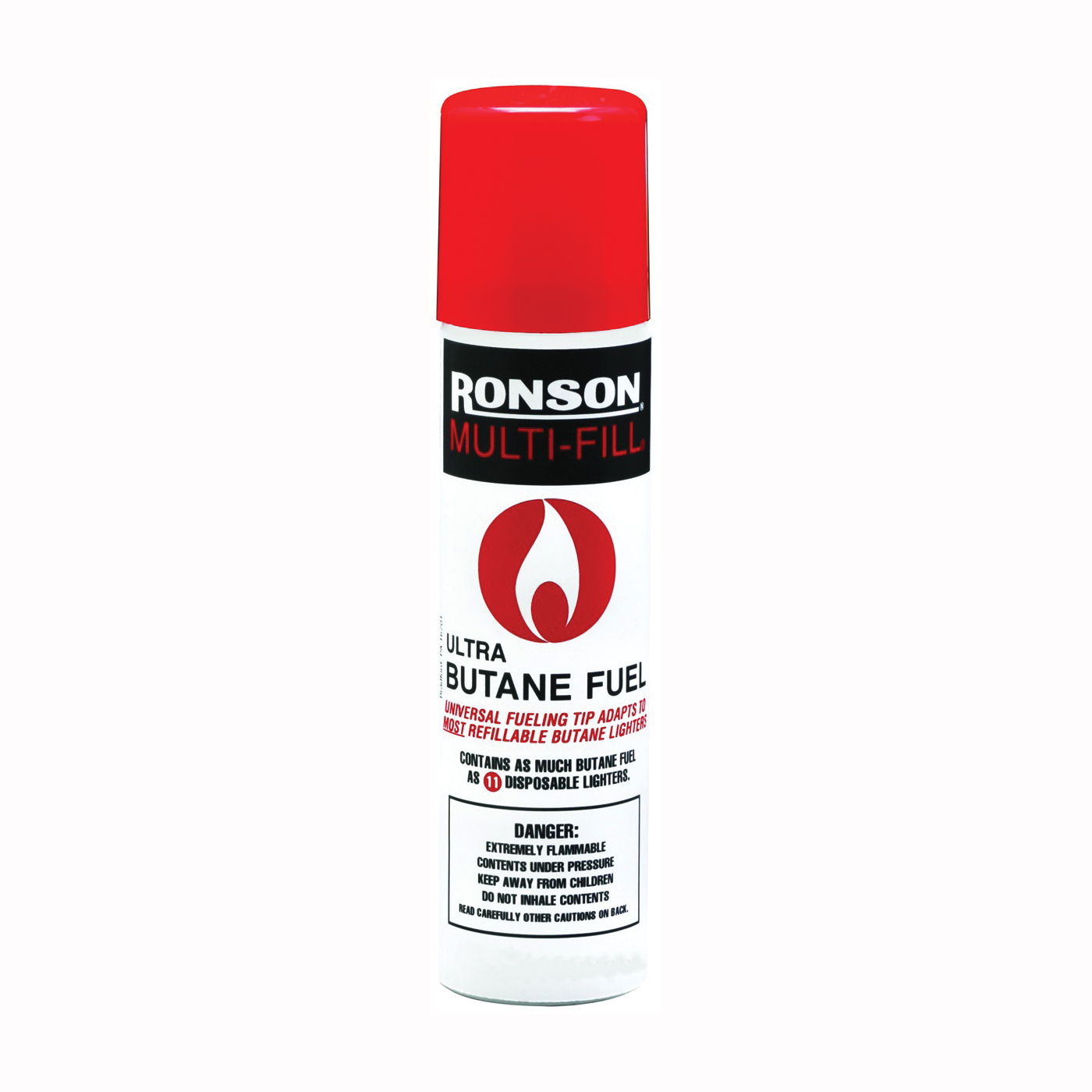Picture of Ronson 99144 Lighter Fuel, Gas, Clear, 2.75 oz Package