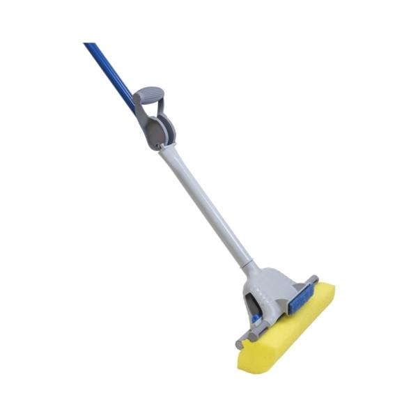 Picture of Quickie 055-4 Sponge Mop, Cellulene Sponge Mop Head, Steel Handle
