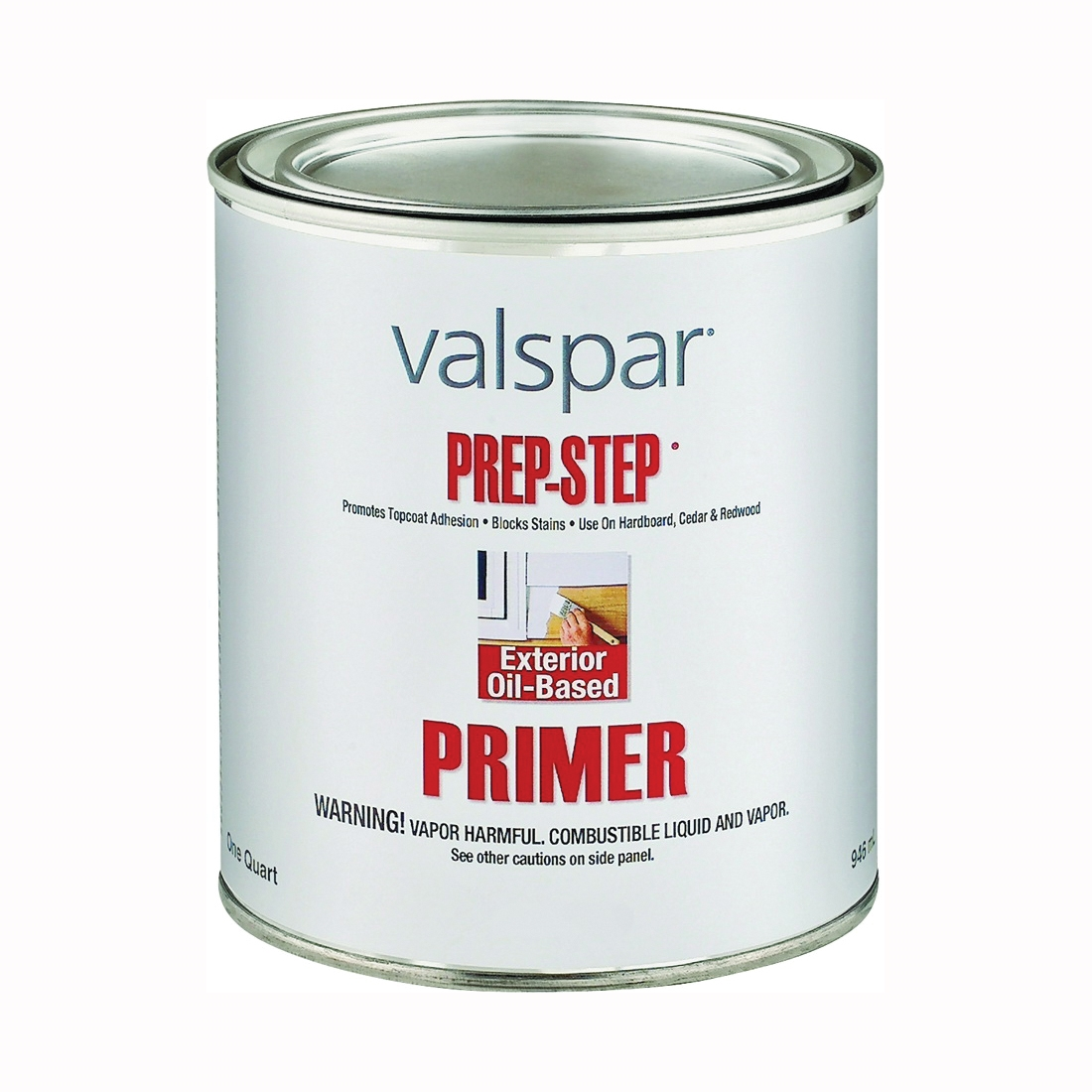 Picture of Valspar Prep-Step 983-1QT Primer, White, 1 qt, Pail