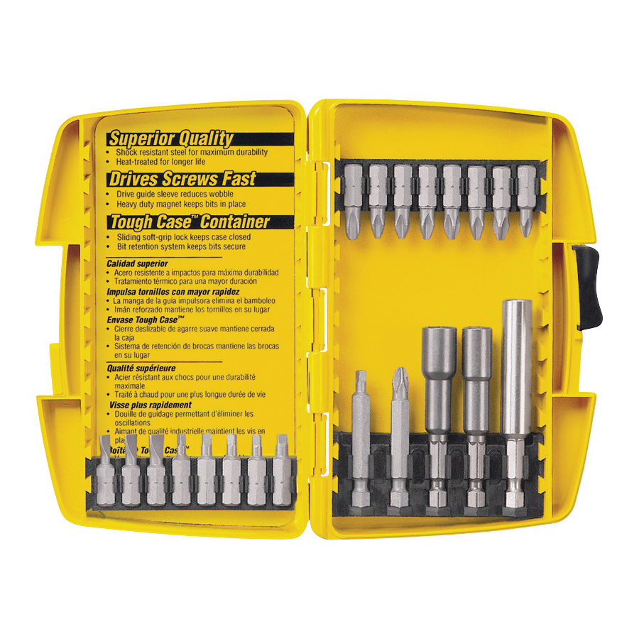Picture of DeWALT DW2161 Screwdriving Set, Steel