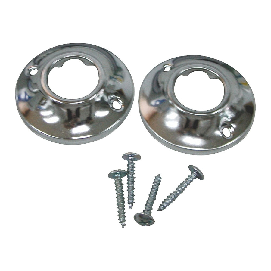 Picture of ProSource PMB-003 Shower Rod Flange, Chrome