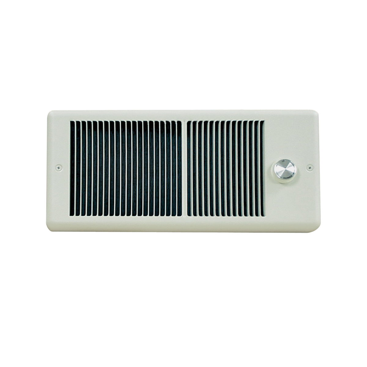 Picture of TPI HF4315TRPW Electric Bath Heater with Wall Box, 5.4/6.3 A, 208/240 V, 3840/5120 Btu, 70 cfm Air, White