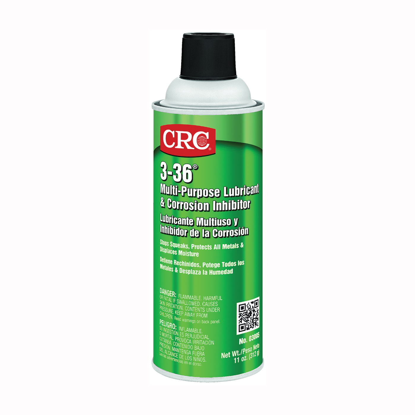 Picture of CRC 03005 Lubricant and Corrosion Inhibitor, 16 oz Package, Aerosol Can, Liquid, Pleasant