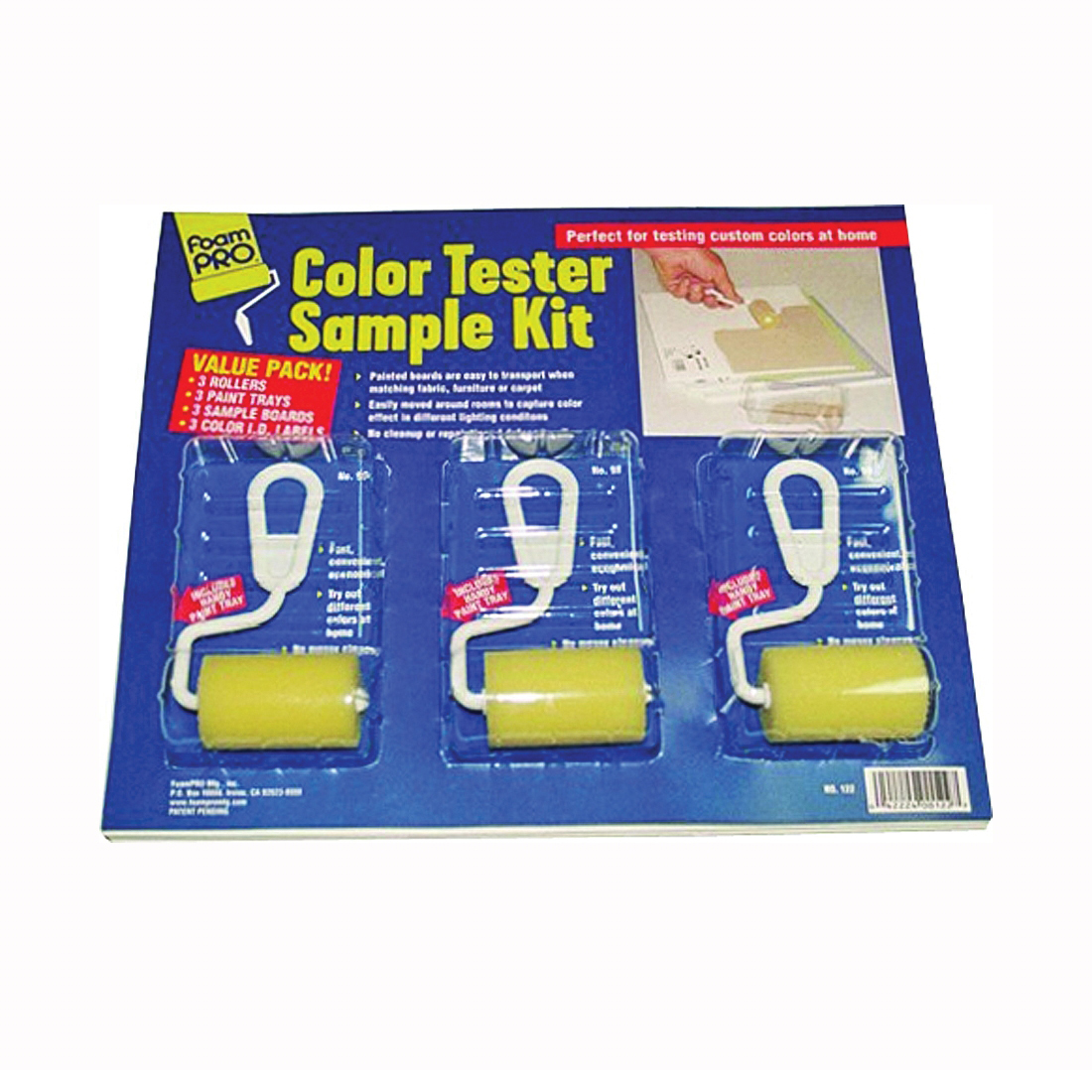 Picture of FOAMPRO 122 Color Tester Roller Kit