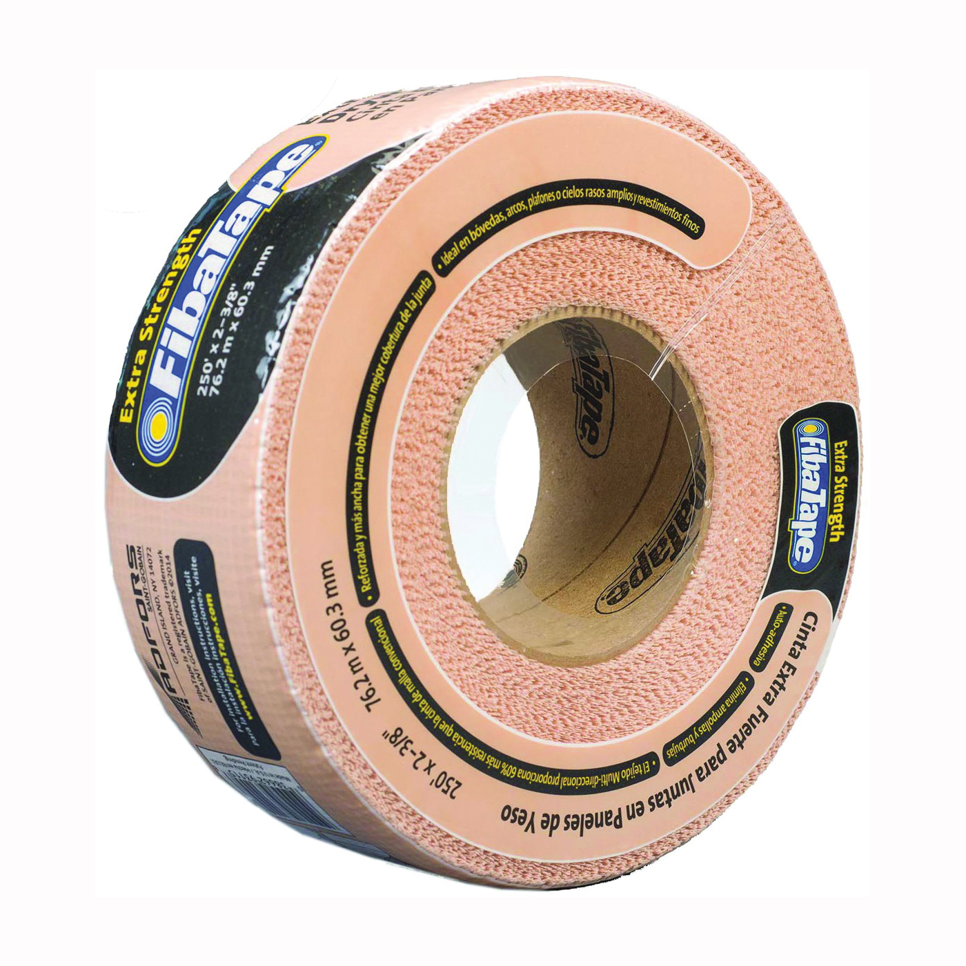 Picture of ADFORS FDW8666-U Drywall Tape Wrap, 250 ft L, 2-3/8 in W, 1/2 mm Thick, Beige, Wrap