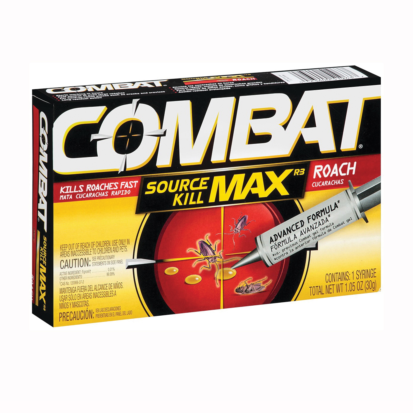 Picture of COMBAT 51963 Roach Killer Gel, Gel, Characteristic, 30 g Package