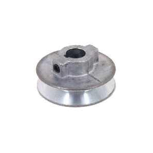 Picture of CDCO 175A--1/2 V-Grooved Pulley, 1-3/4 in OD, 1-1/2 in Dia Pitch, 1/2 in W x 11/32 in Thick Belt, Zinc