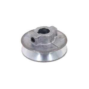 Picture of CDCO 175A--5/8 V-Grooved Pulley, 1-3/4 in OD, 1-1/2 in Dia Pitch, 1/2 in W x 11/32 in Thick Belt, Zinc