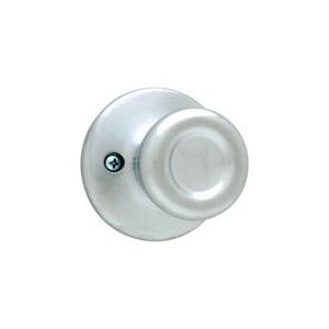 Picture of Kwikset 488T 26D Dummy Door Knob, 1-7/8 in Dia Knob, Satin Chrome