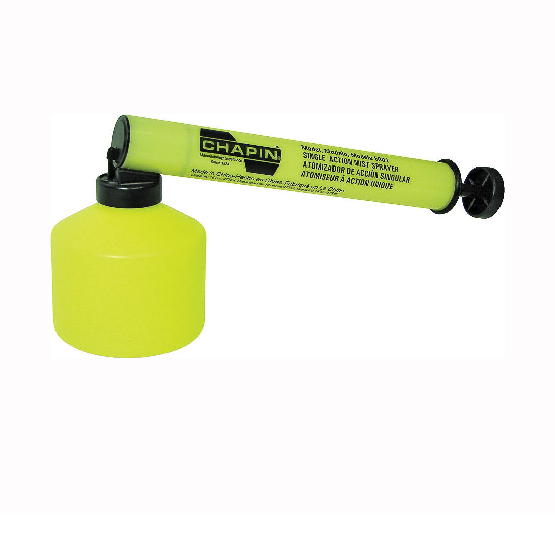 Picture of CHAPIN 5001 Mist Sprayer, Misting Nozzle, Polyethylene, Yellow