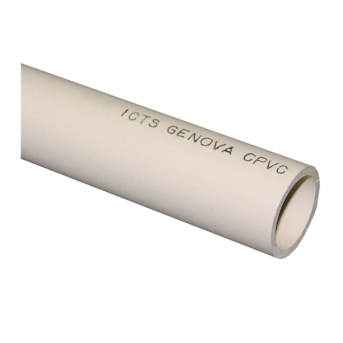 Picture of GENOVA 500 Series 44915/560010 Tubing, 1 in, 10 ft L, Plain, Buff