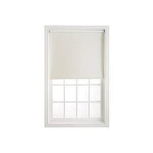 Picture of LEVOLOR SRSMWF3706603D Window Shade, 66 in L, 37 in W, 1-Ply, Vinyl, Cream