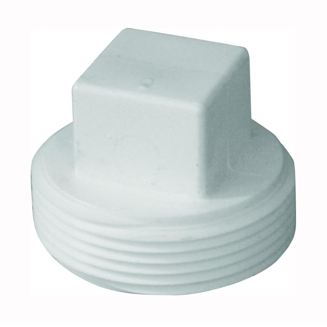 Picture of GENOVA 71860 Pipe Plug, 6 in, MIP, PVC, SCH 40 Schedule